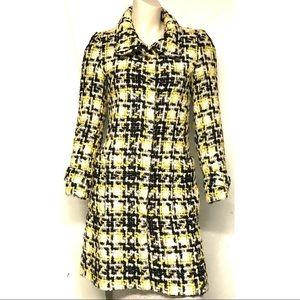 Zara long wool blend coat